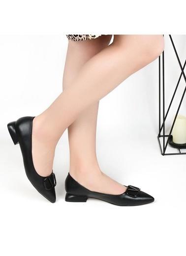 Pandora Ka4122 Ortapedik Siyah Bayan Günlük Babet Ayakkabı Siyah